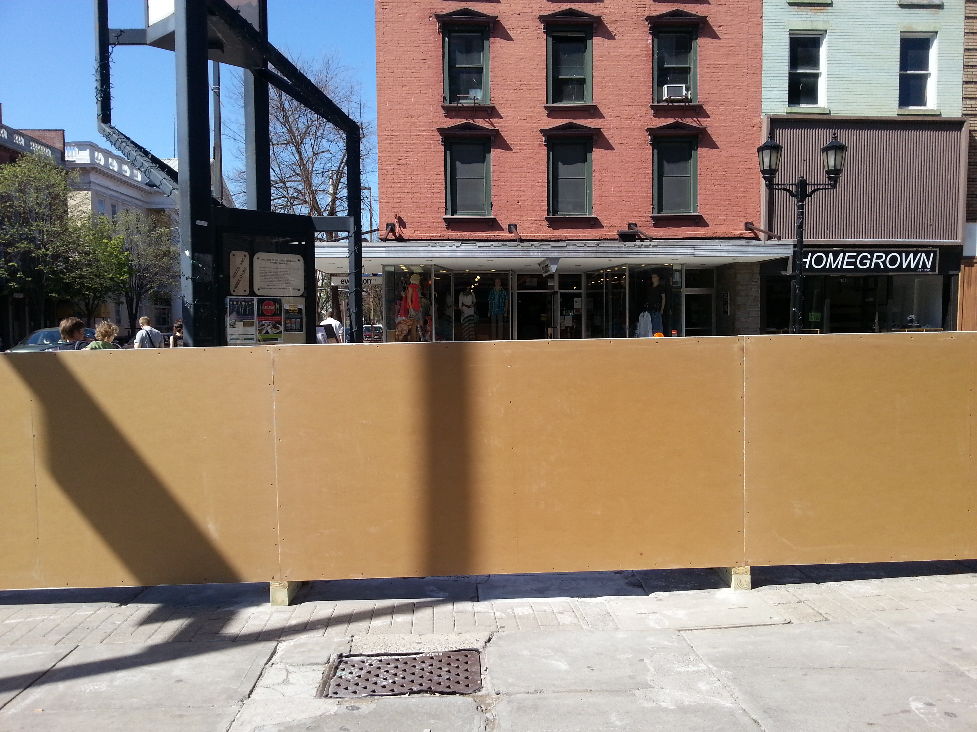 fence construction. protection fence construction